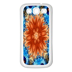 Alchemy Kaleidoscope Pattern Samsung Galaxy S3 Back Case (white)