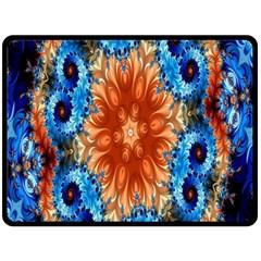 Alchemy Kaleidoscope Pattern Double Sided Fleece Blanket (large)