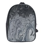 Abstract Art Decoration Design School Bag (XL) Front
