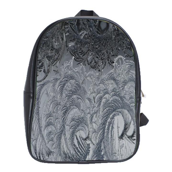 Abstract Art Decoration Design School Bag (XL)