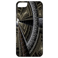 Fractal Circle Circular Geometry Apple Iphone 5 Classic Hardshell Case
