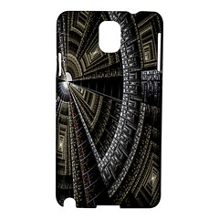 Fractal Circle Circular Geometry Samsung Galaxy Note 3 N9005 Hardshell Case