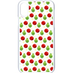 Watercolor Ornaments Apple Iphone X Seamless Case (white)