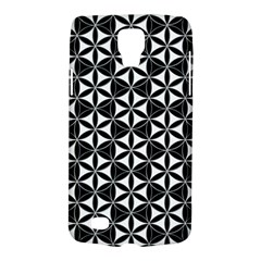 Flower Of Life Pattern Black White Galaxy S4 Active