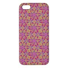 Kaledoscope Pattern  Apple Iphone 5 Premium Hardshell Case