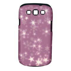 Blurry Stars Lilac Samsung Galaxy S Iii Classic Hardshell Case (pc+silicone)