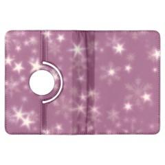 Blurry Stars Lilac Kindle Fire Hdx Flip 360 Case