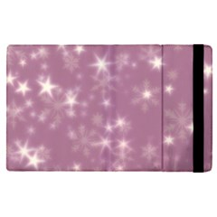 Blurry Stars Lilac Apple Ipad Pro 12 9   Flip Case