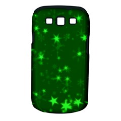 Blurry Stars Green Samsung Galaxy S Iii Classic Hardshell Case (pc+silicone)