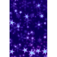 Blurry Stars Blue 5 5  X 8 5  Notebooks