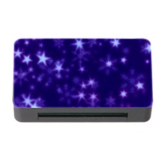 Blurry Stars Blue Memory Card Reader With Cf