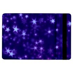 Blurry Stars Blue Ipad Air Flip
