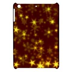 Blurry Stars Golden Apple Ipad Mini Hardshell Case