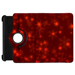 Blurry Stars Red Kindle Fire Hd 7