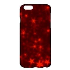 Blurry Stars Red Apple Iphone 6 Plus/6s Plus Hardshell Case