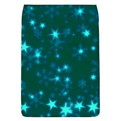 Blurry Stars Teal Flap Covers (s)