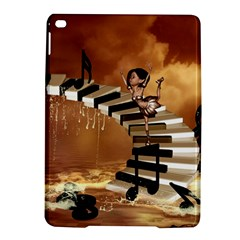 Cute Little Girl Dancing On A Piano Ipad Air 2 Hardshell Cases