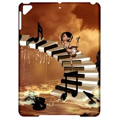 Cute Little Girl Dancing On A Piano Apple Ipad Pro 9 7   Hardshell Case