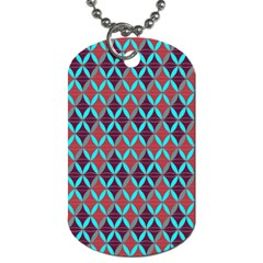 Rhomboids Pattern 2 Dog Tag (two Sides)