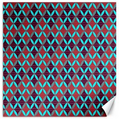 Rhomboids Pattern 2 Canvas 12  X 12