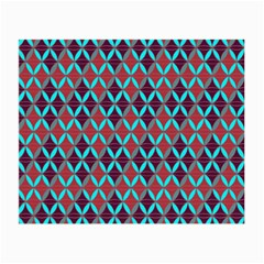Rhomboids Pattern 2 Small Glasses Cloth (2 Side)