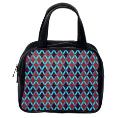 Rhomboids Pattern 2 Classic Handbags (one Side)