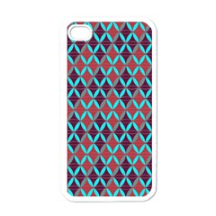 Rhomboids Pattern 2 Apple Iphone 4 Case (white)