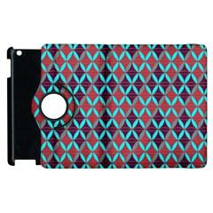 Rhomboids Pattern 2 Apple Ipad 3/4 Flip 360 Case