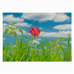 Beauty Nature Scene Photo Large Glasses Cloth (2 Side)