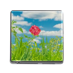 Beauty Nature Scene Photo Memory Card Reader (square)