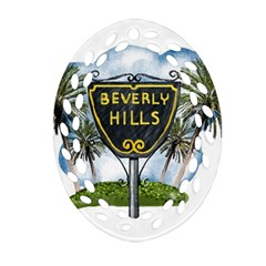 Beverly Hills Ornament (oval Filigree)