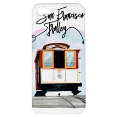 San Francisco Trolley California Bear Apple Iphone 5 Hardshell Case