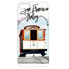 San Francisco Trolley California Bear Apple Iphone 5 Hardshell Case With Stand