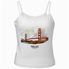 San Francisco Golden Gate Bridge Ladies Camisoles