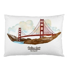 San Francisco Golden Gate Bridge Pillow Case (two Sides)