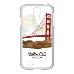 San Francisco Golden Gate Bridge Samsung Galaxy S4 I9500/ I9505 Case (white)
