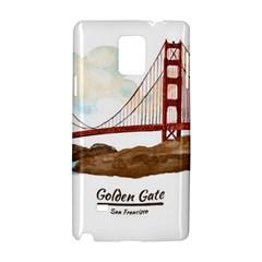 San Francisco Golden Gate Bridge Samsung Galaxy Note 4 Hardshell Case