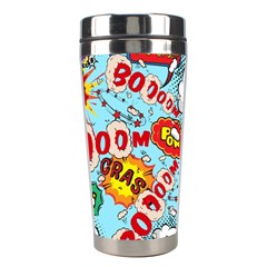 Comic Pattern Stainless Steel Travel Tumblers