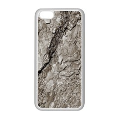 Tree Bark A Apple Iphone 5c Seamless Case (white)