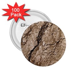 Tree Bark B 2 25  Buttons (100 Pack)