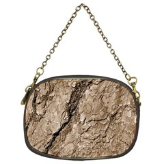 Tree Bark B Chain Purses (two Sides)
