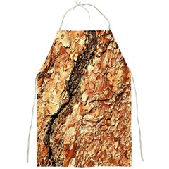 Tree Bark D Full Print Aprons