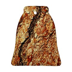 Tree Bark D Bell Ornament (two Sides)