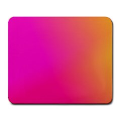 Pink Orange Yellow Ombre  Large Mousepads