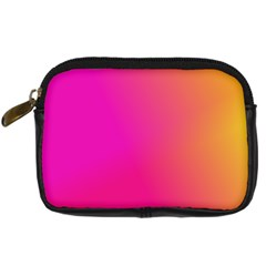 Pink Orange Yellow Ombre  Digital Camera Cases