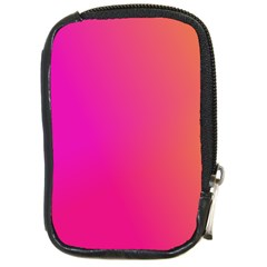 Pink Orange Yellow Ombre  Compact Camera Cases