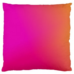 Pink Orange Yellow Ombre  Large Cushion Case (one Side)
