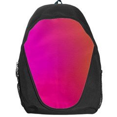 Pink Orange Yellow Ombre  Backpack Bag