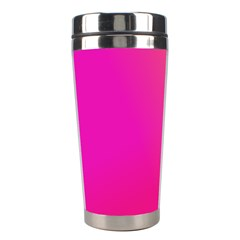 Pink Orange Yellow Ombre  Stainless Steel Travel Tumblers