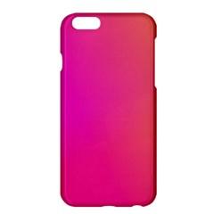 Pink Orange Yellow Ombre  Apple Iphone 6 Plus/6s Plus Hardshell Case